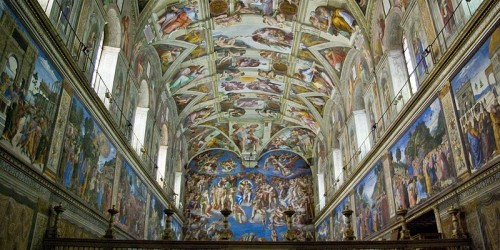 Early morning Sistine Chapel