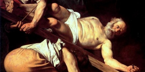 Caravaggio, the damned Michelangelo