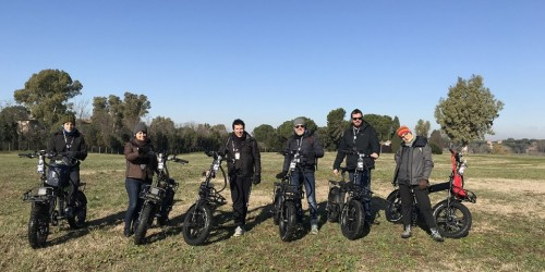 The ultimate Appian way tour with electric bikes